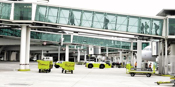 Ground handling activities - Airport